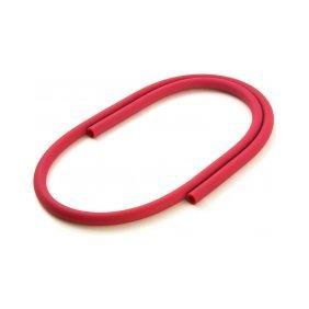 Шланг силиконовый красный