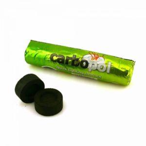 Уголь CARBOPOL 28 мм быстроразжигающийся