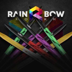 Мундштук индивидуальный RAINBOW (Чёрный с серым)