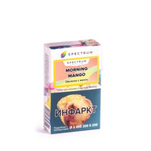 Spectrum — Morning Mango (Овсянка с Манго) 40г