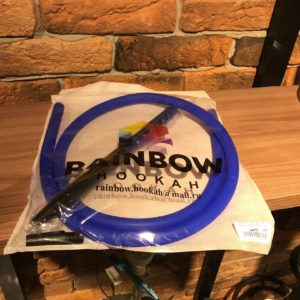 Мундштук +шланг RAINBOW (Синий с черным)