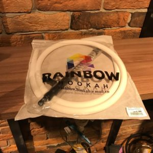 Мундштук +шланг RAINBOW (Белый)