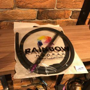 Мундштук +шланг RAINBOW (Чёрный с фиолетовым)