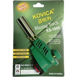 Горелка газовая с пьезоэлектрическим розжигом Kovica KS-1005