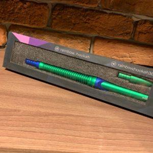 Мундштук Rainbow (зелёно-синий)