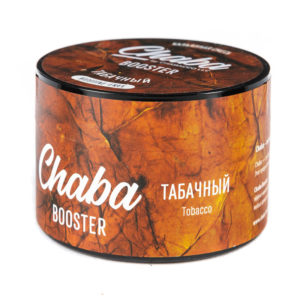 Chaba Booster Tobacco (Табачный) 50г